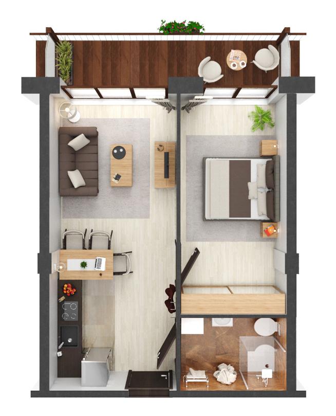 Apartament B1.04