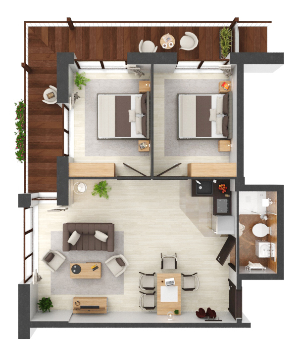 Apartament B1.09