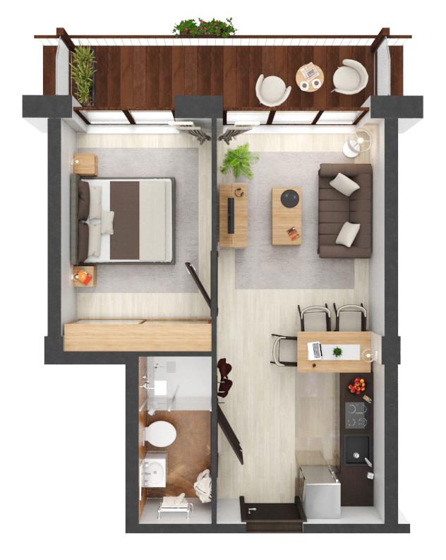Apartament B1.10