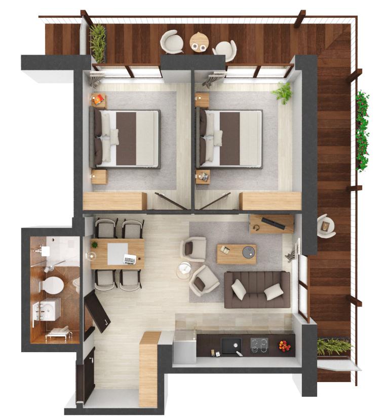 Apartament B1.13