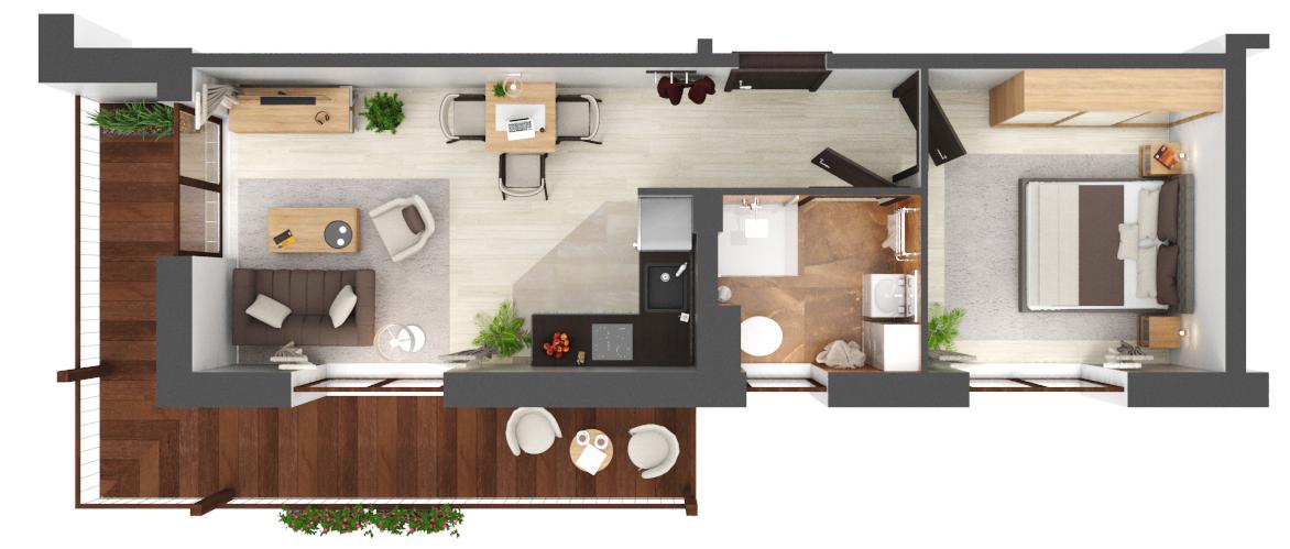 Apartament B1.15