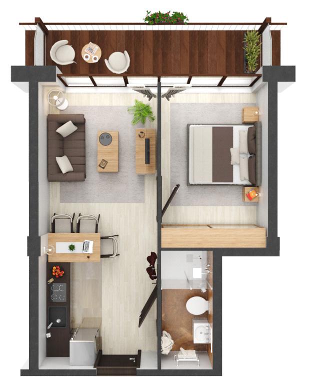 Apartament B1.19