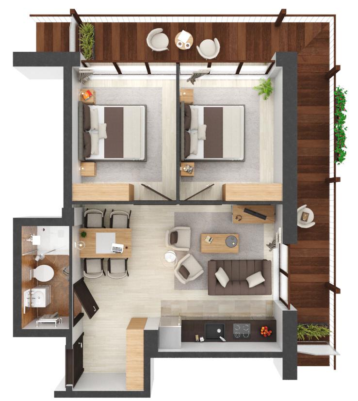 Apartament B1.20