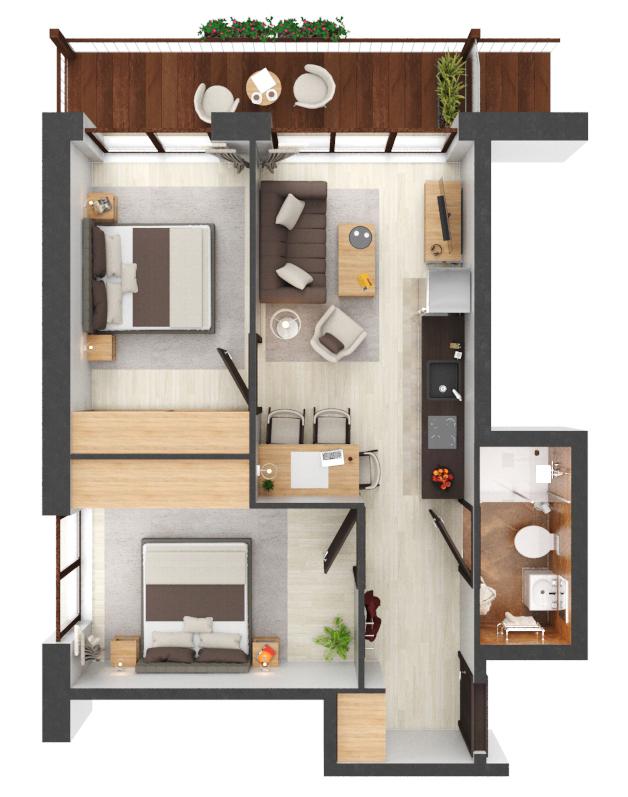 Apartament B2.02
