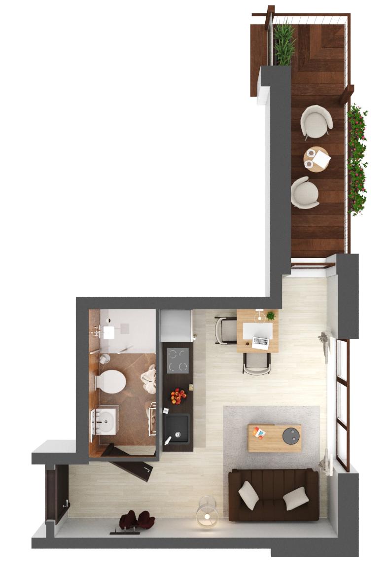 Apartament B3.07