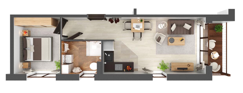 Apartament B3.08