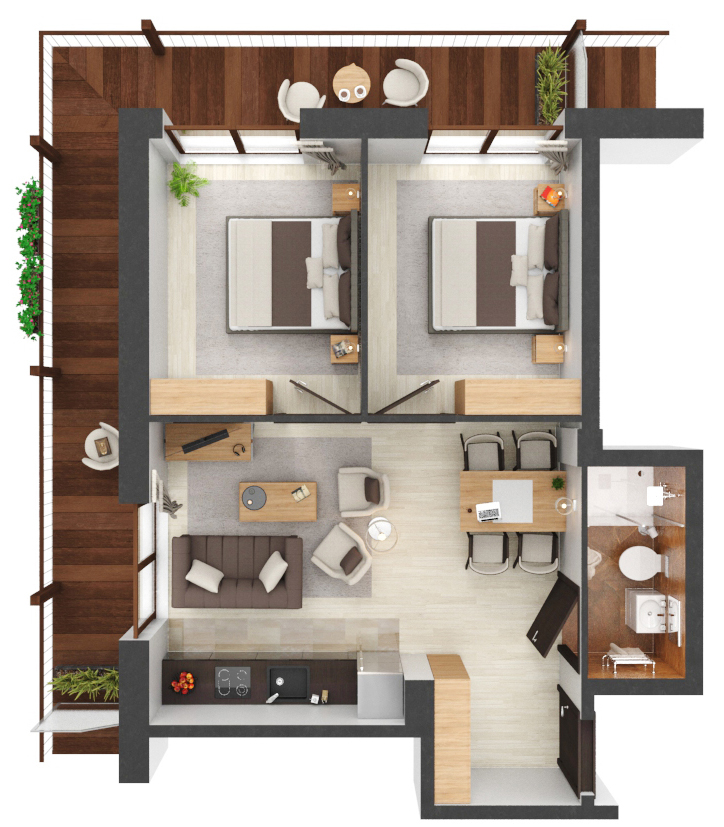 Apartament B3.02