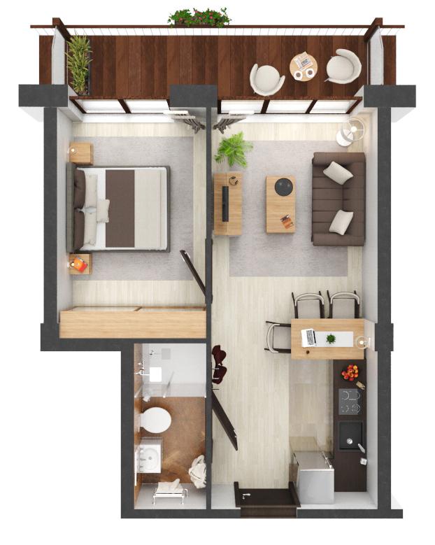 Apartament B2.11