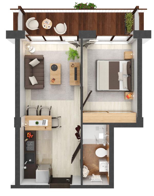 Apartament B3.13