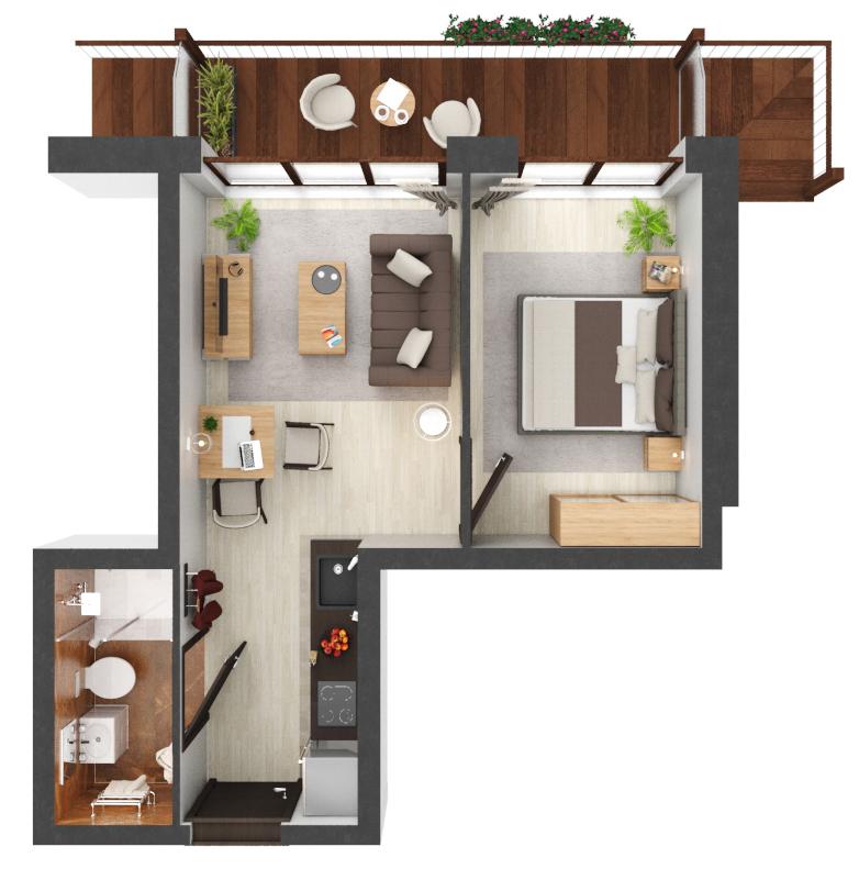 Apartament B3.14