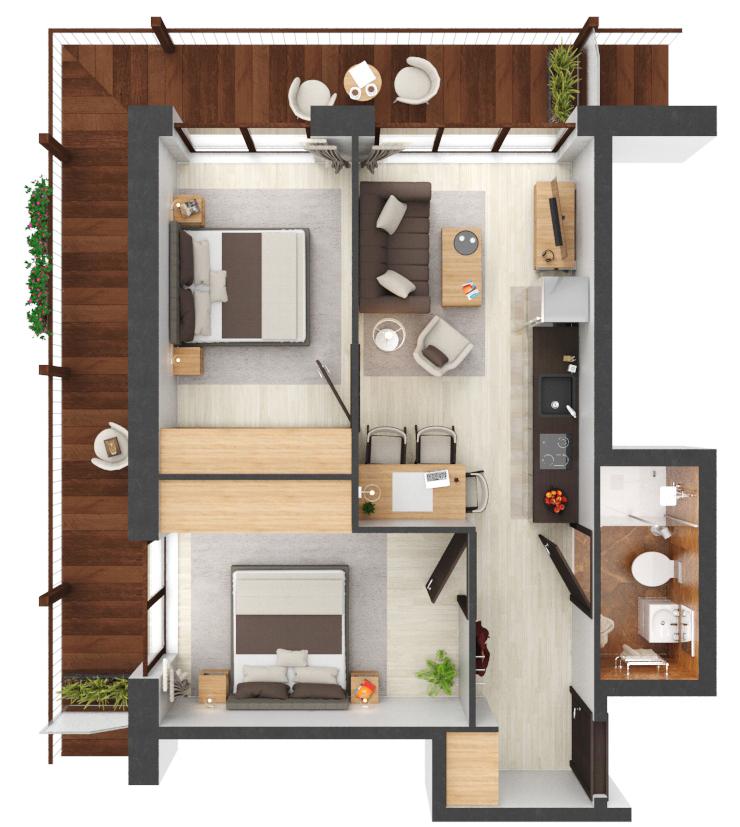 Apartament B2.18