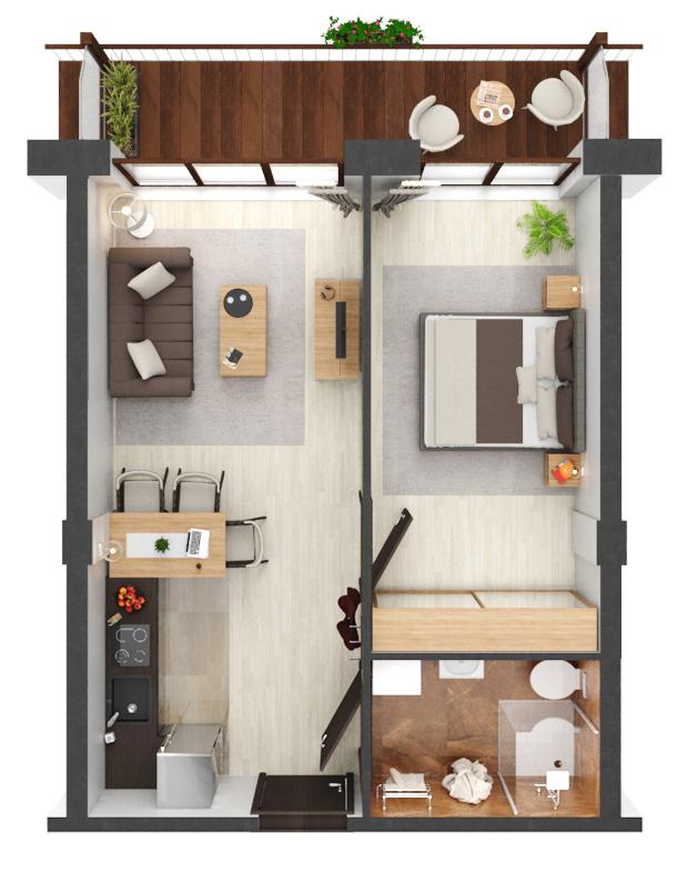 Apartament B3.20
