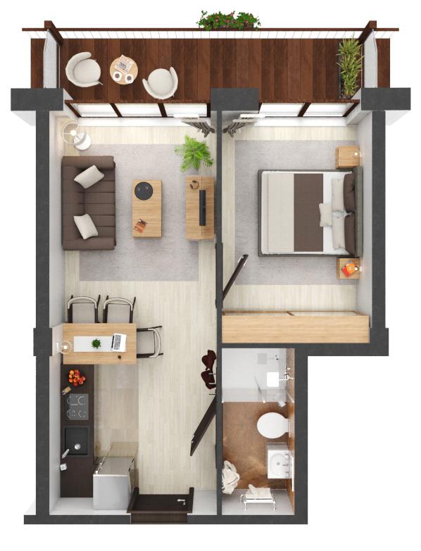 Apartament B2.21