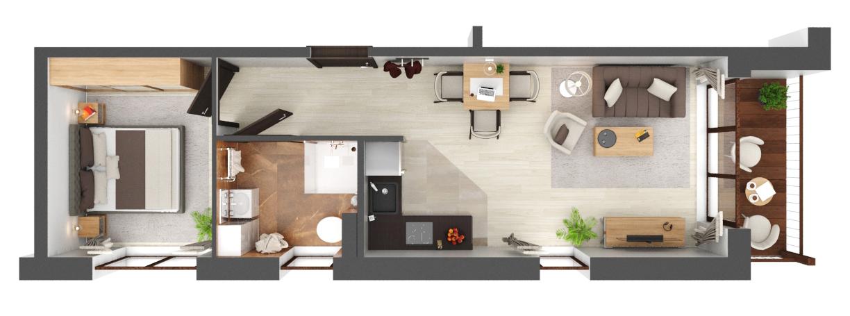 Apartament B2.24