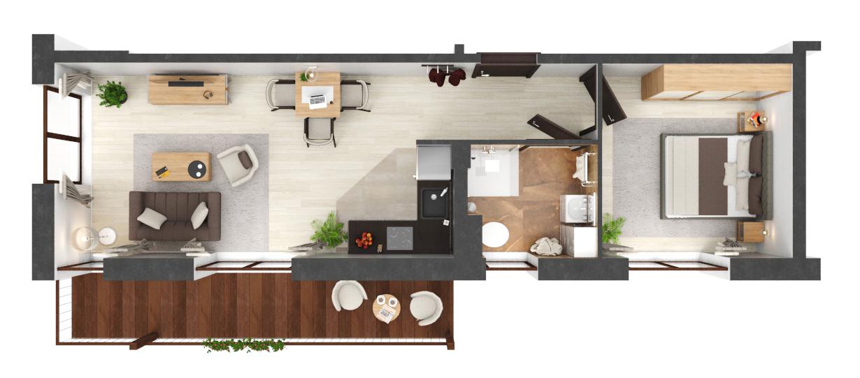Apartament B1.01