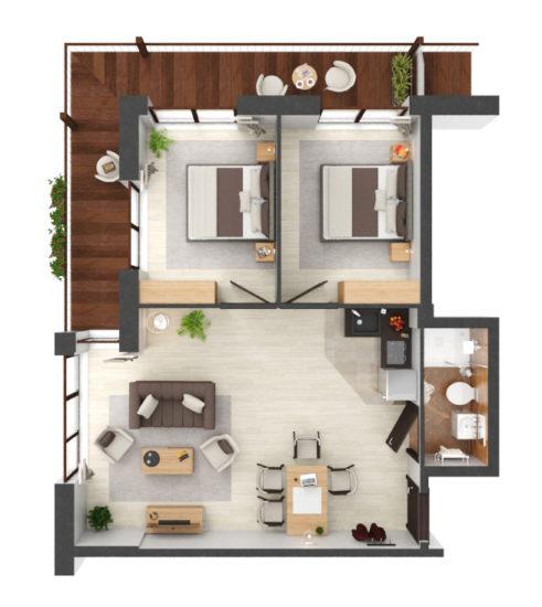 Apartament B1.02
