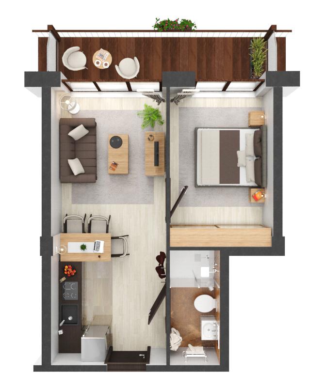 Apartament B4.12