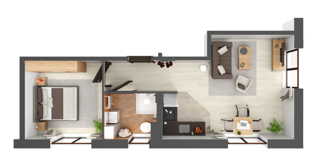 Apartament B1.07
