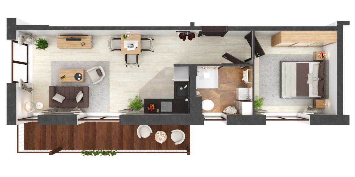 Apartament B1.08
