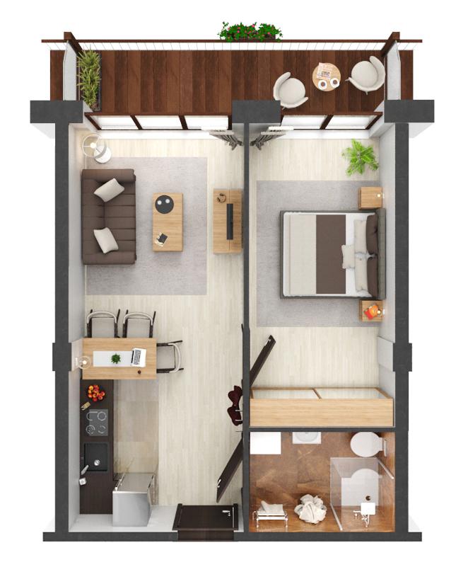 Apartament B1.11