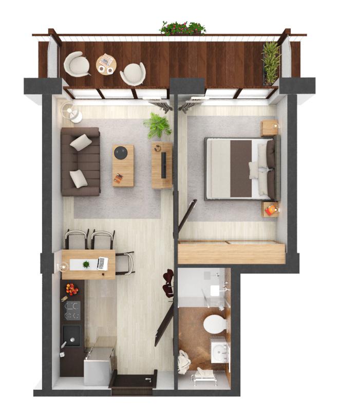 Apartament B1.12