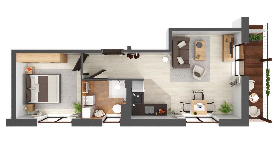Apartament B1.14