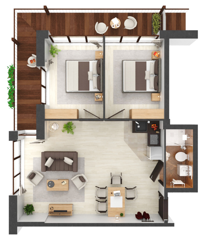 Apartament B1.16