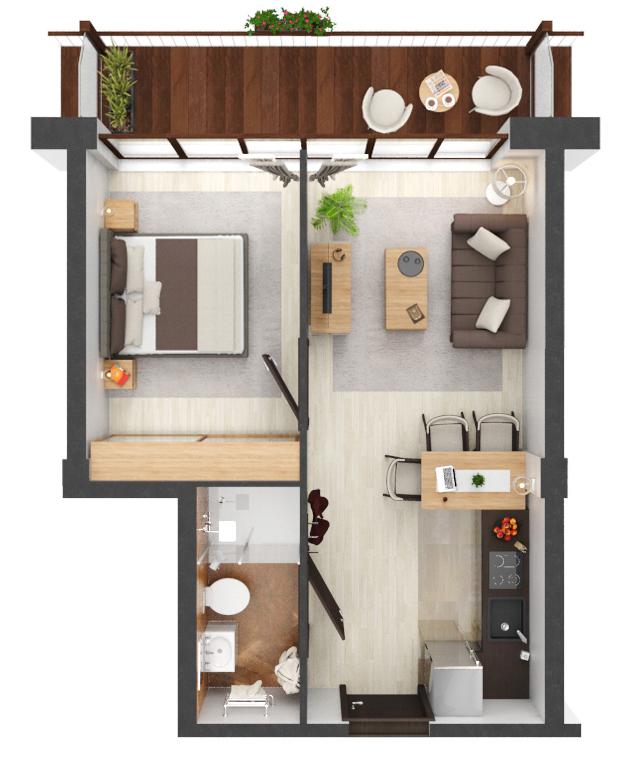 Apartament B1.17