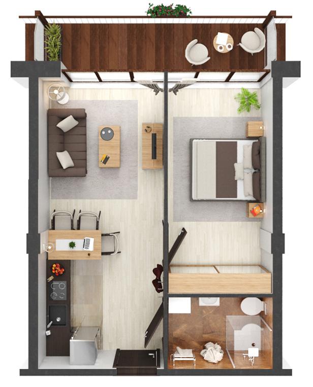 Apartament B1.18
