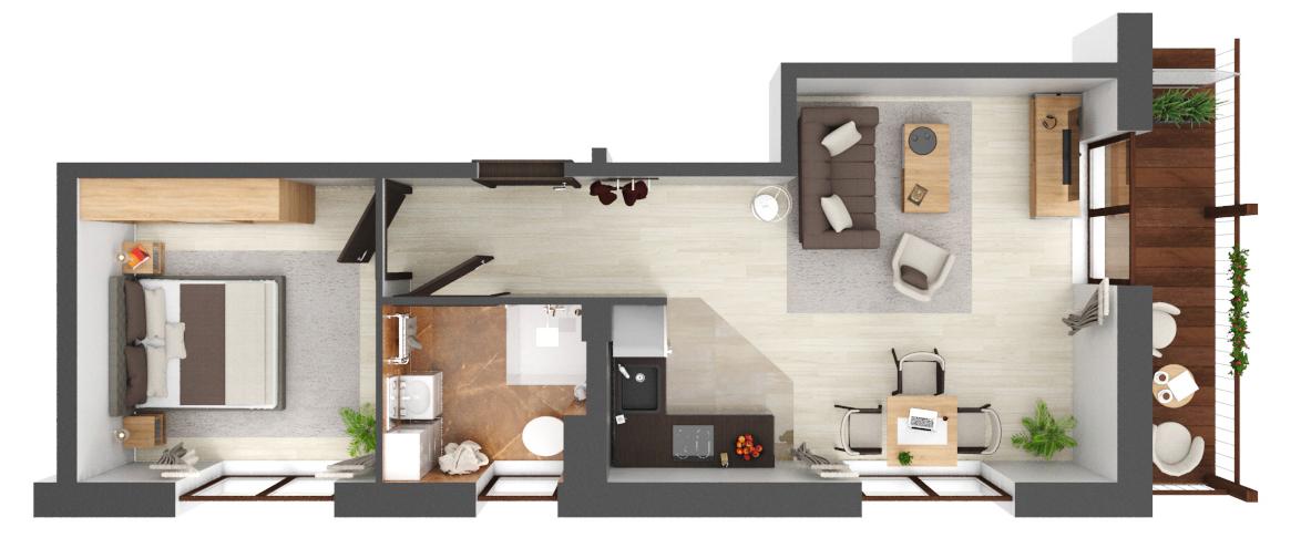 Apartament B1.21