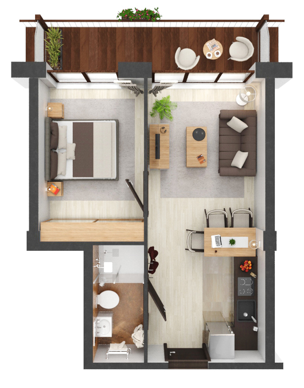 Apartament B3.03