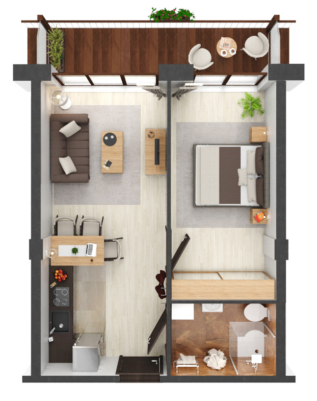 Apartament B3.04