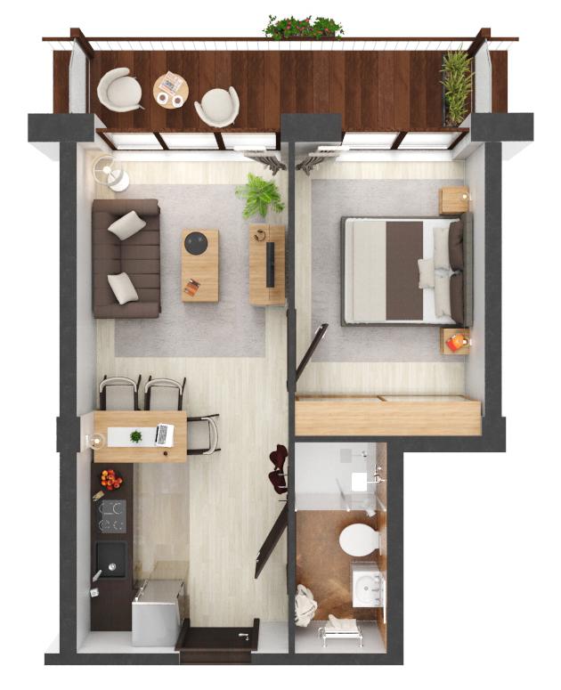 Apartament B4.19