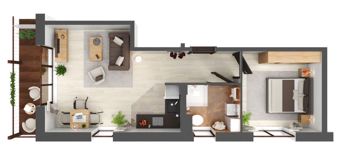 Apartament B4.15