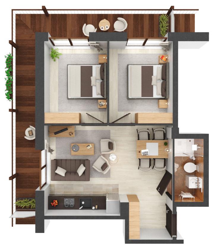 Apartament B2.10