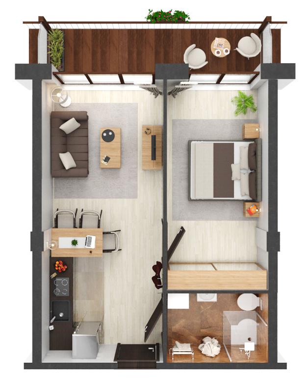 Apartament B4.18