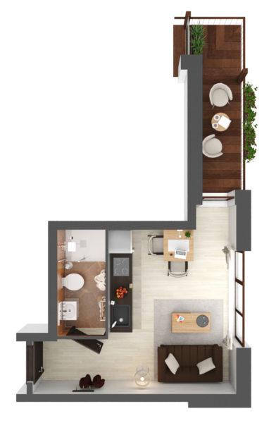 Apartament B2.15
