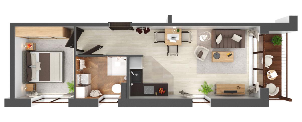 Apartament B2.16