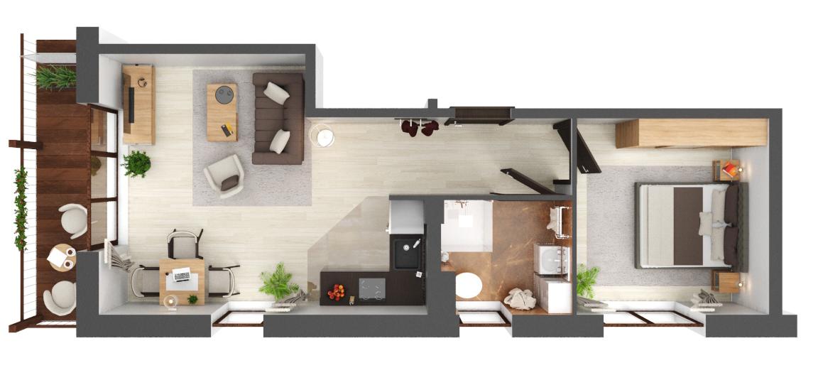 Apartament B3.17