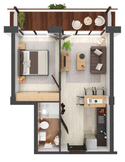 Apartament B2.19