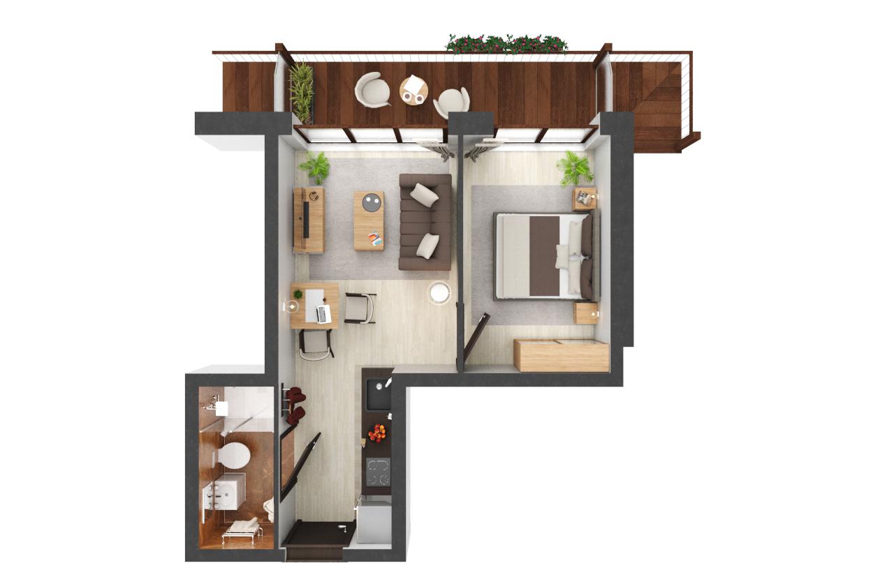Apartament B2.22