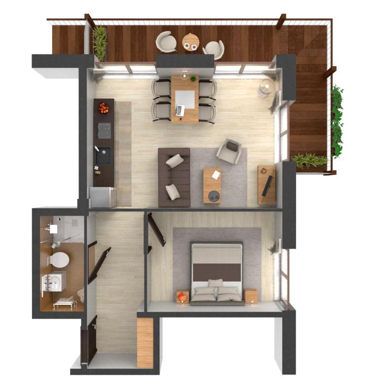 Apartament B4.06