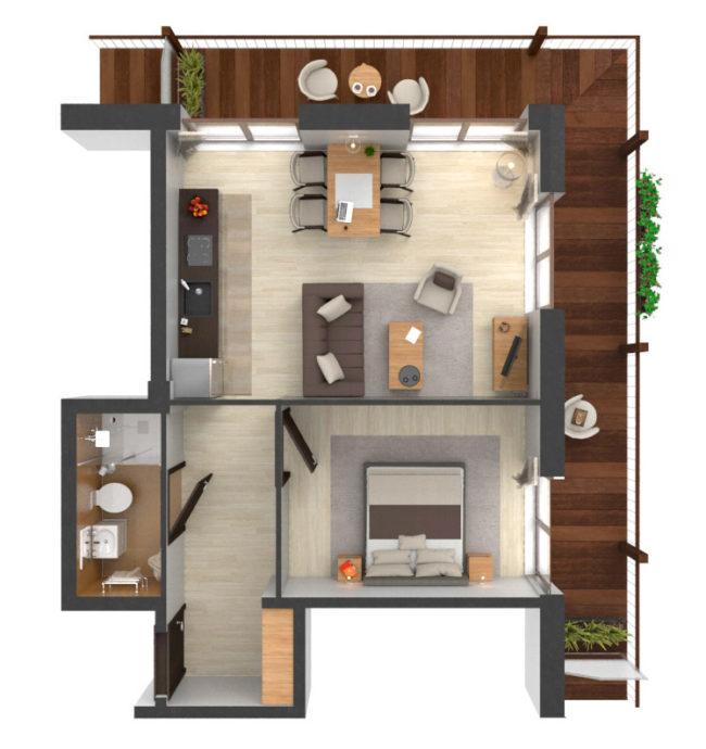 Apartament B4.13
