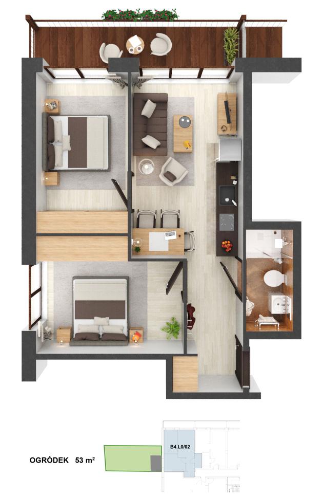 Apartament B4.02